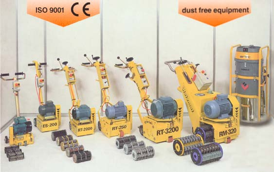 Surface Preparation Machines